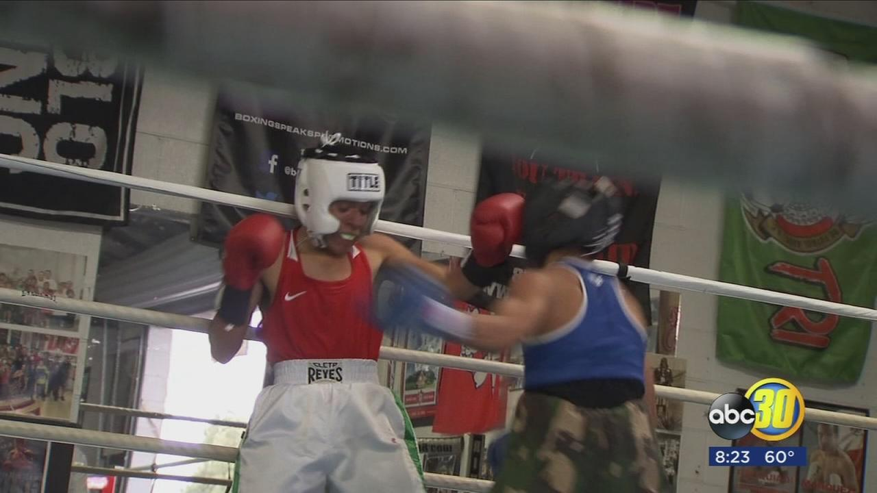 Boxing gym hosts tournament with fighters from across the U.S.