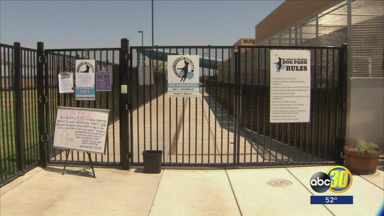 Increase in dog flu prompts temporary closing of Valley dog park