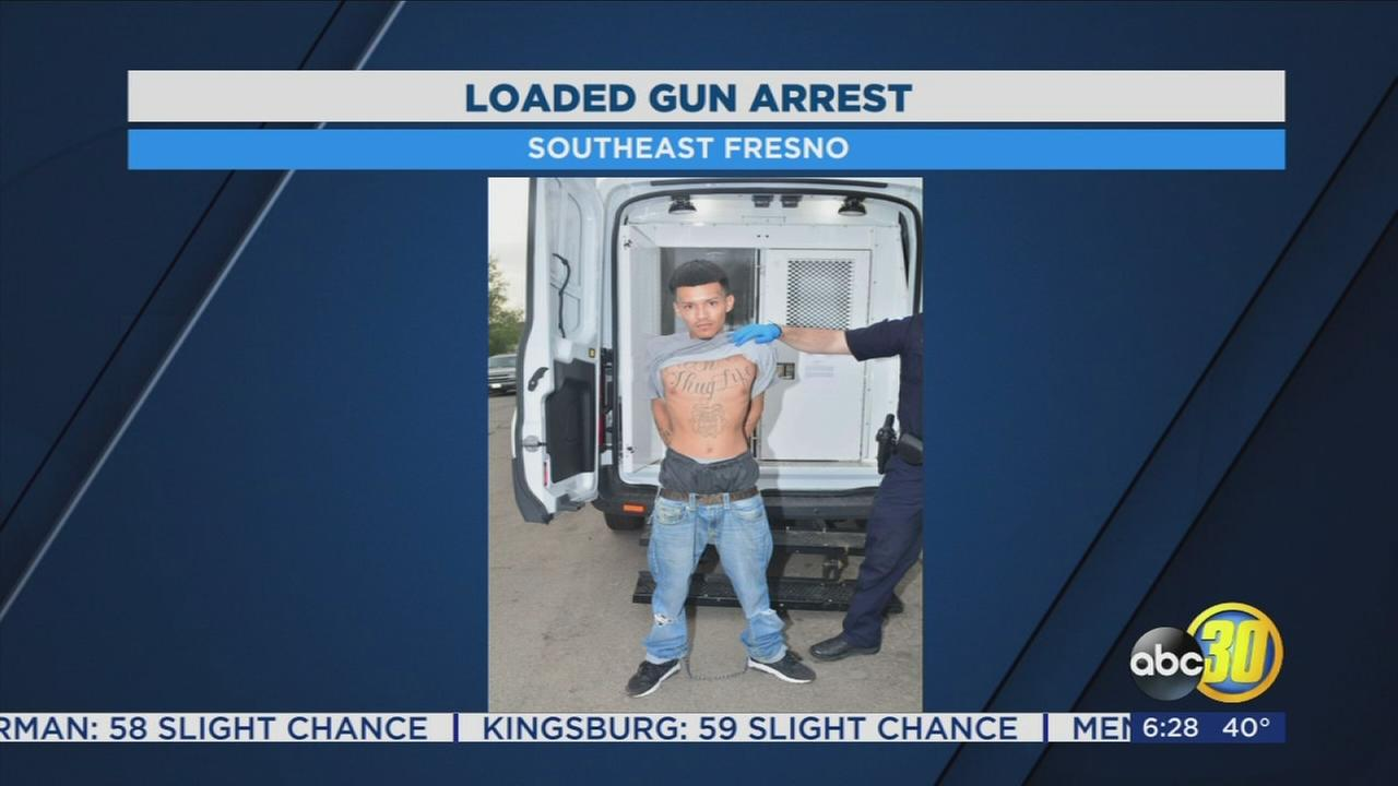 Bulldog Gang member arrested after police find loaded gun during traffic stop