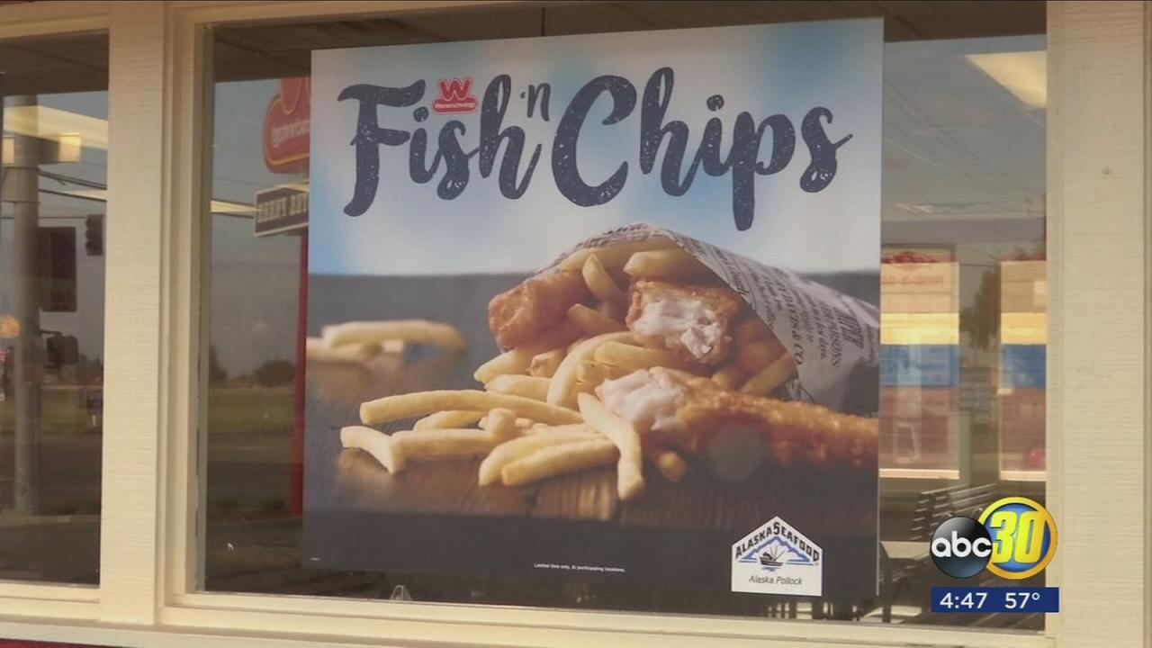 Wienerschnitzel is offering fish and chips this Spring