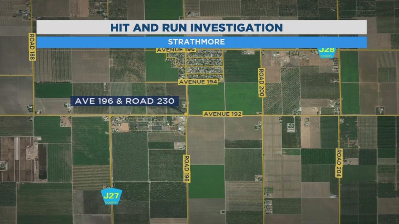 Police looking for driver involved in hit and run near Strathmore that sent 14-year-old to the hospital