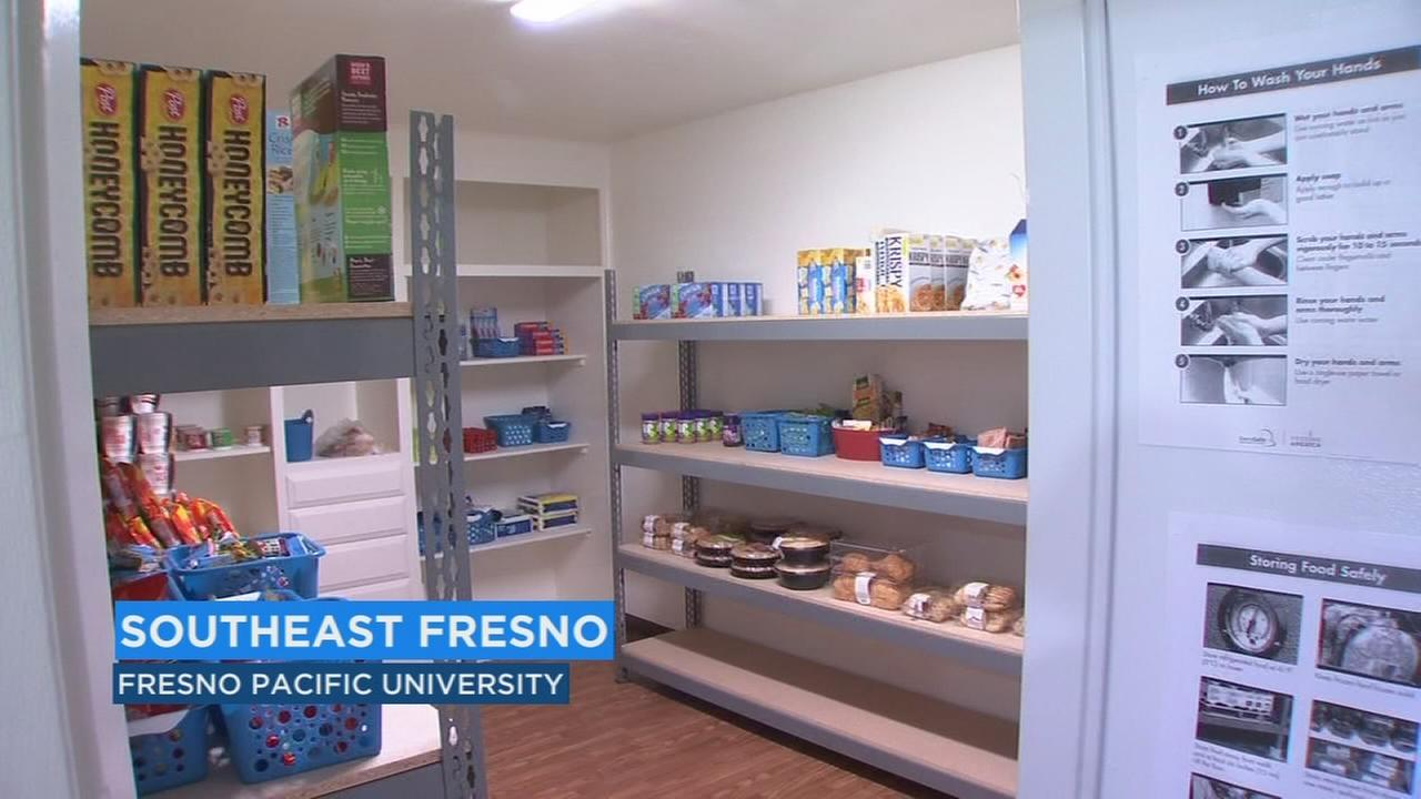Fresno Pacific University opens food pantry