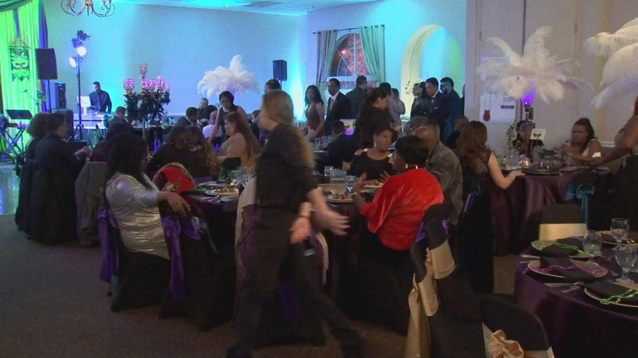 Non profit hosts fundraiser low-income families, developmentally disabled adults