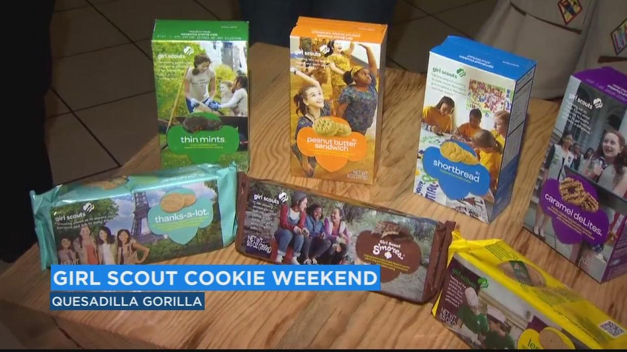 Girl Scouts gear up for a sweet weekend