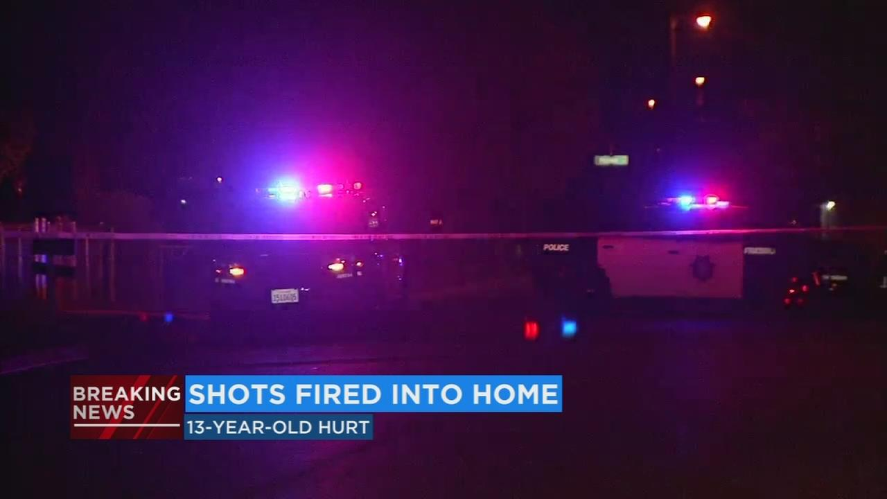 13 year old girl suffers non-life threatening injuries after being shot while inside SE Fresno home