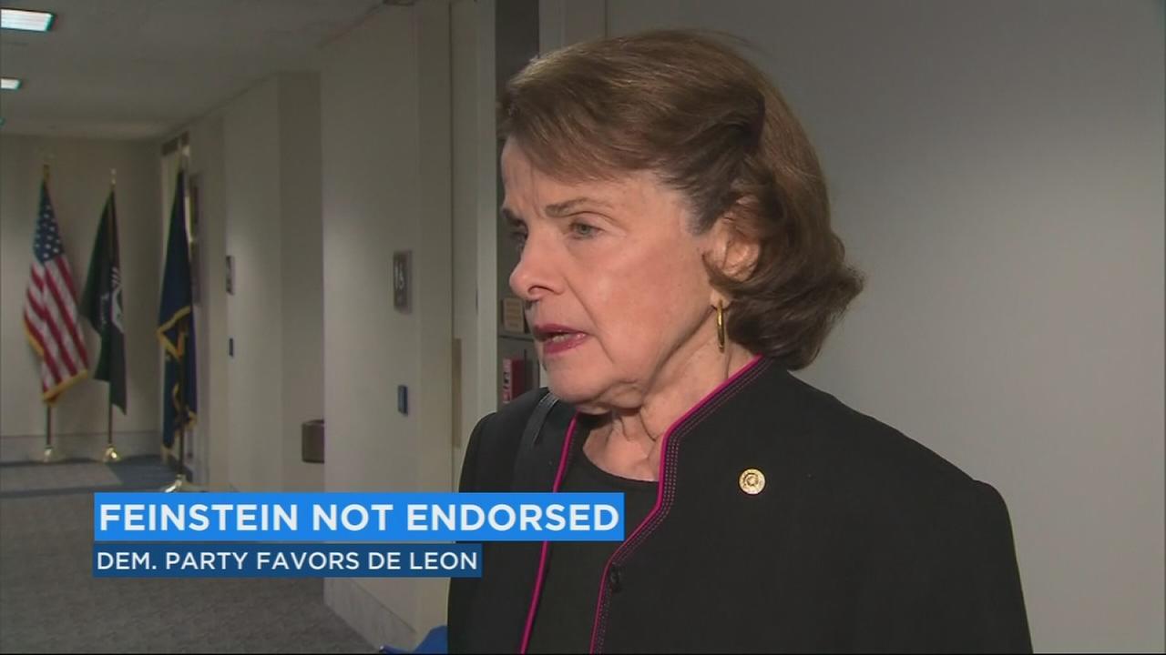 Democrats in California decline to endorse Dianne Feinsteins re-election bid