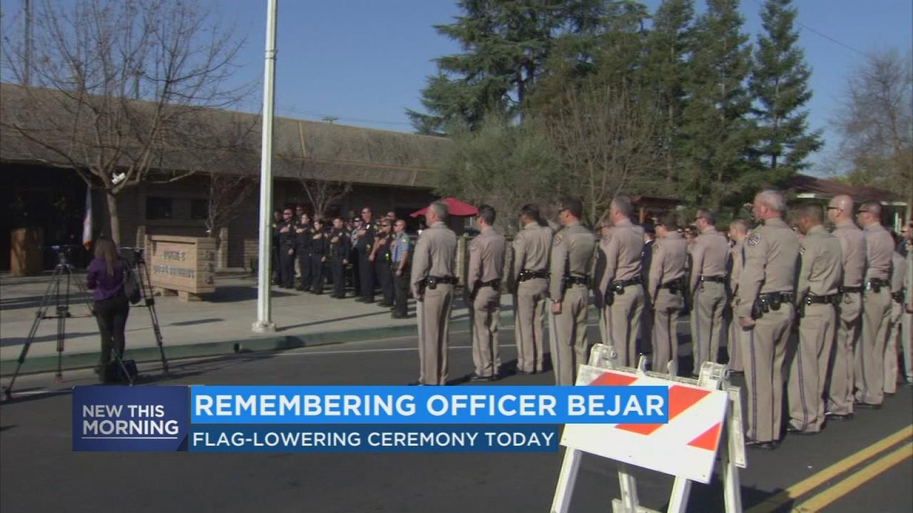 Law enforcement officers honor Reedley officer killed 8 years ago in shootout