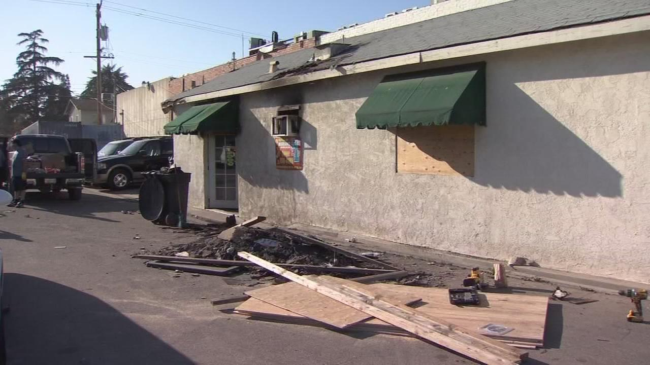 Sanger fire officials launch arson investigation after fire nearly destroys family business