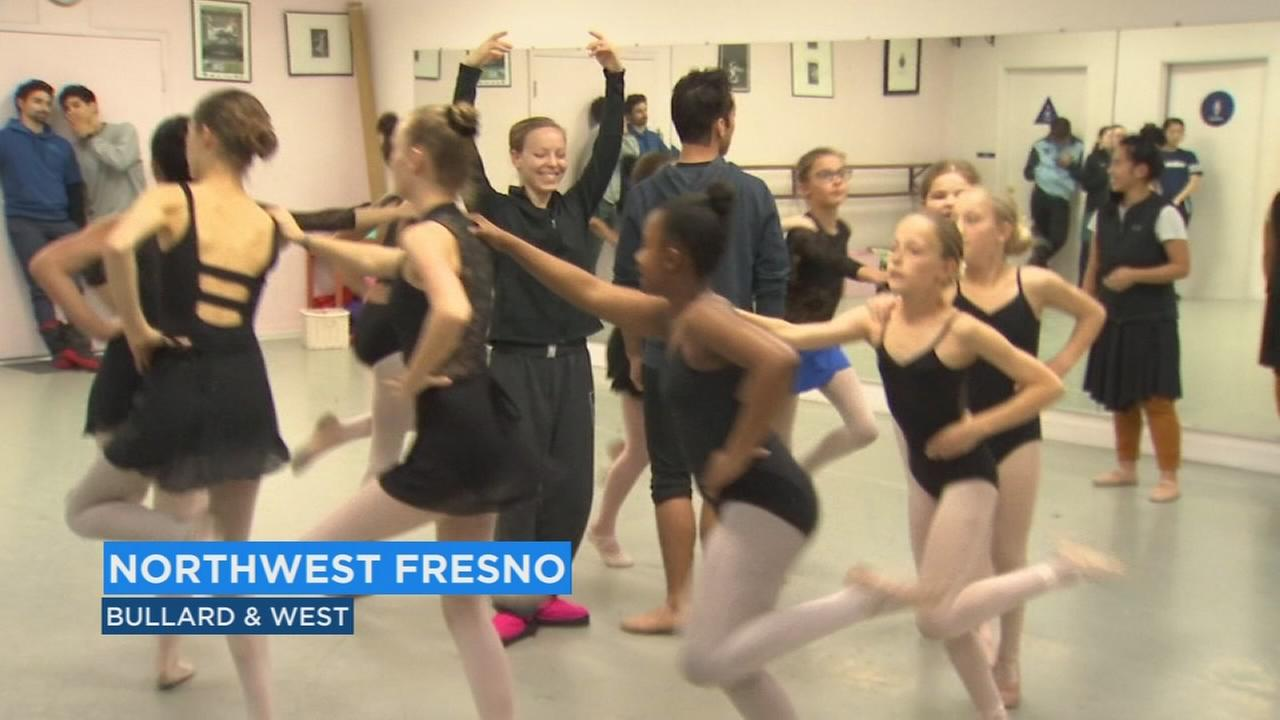 Fresno students join up with professional ballet company to perform Romeo and Juliet