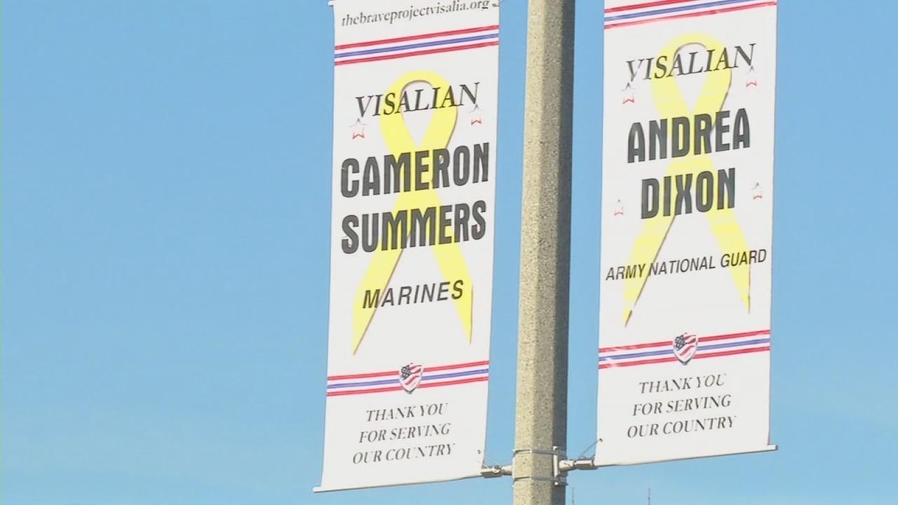 Visalia BRAVE Project hangs 10 more banners, bringing total to 215