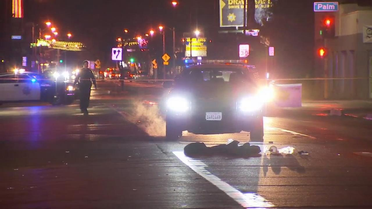 Person hospitalized after hit run crash in Central Fresno