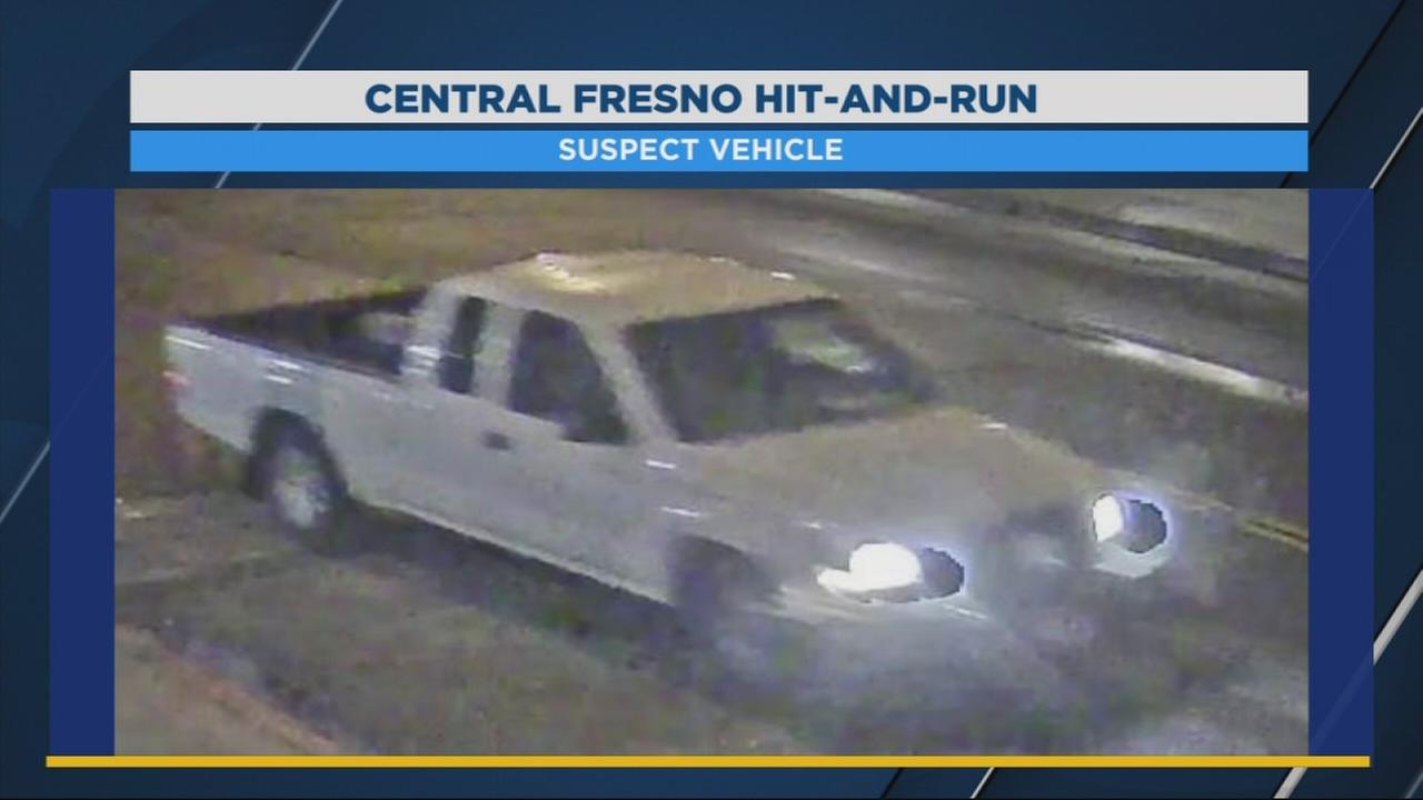 Investigators search for truck involved in a hit-and-run crash