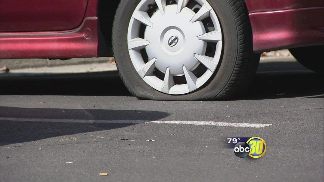 Downtown Fresno Neighbors Blame Broken Street Lights For Slashed Tires