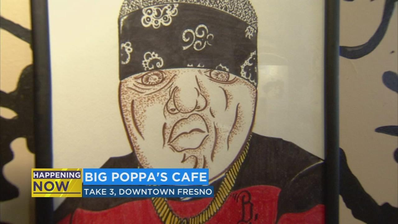 Big Poppas Cafe appears on Fulton Street in honor of Notorious BIG