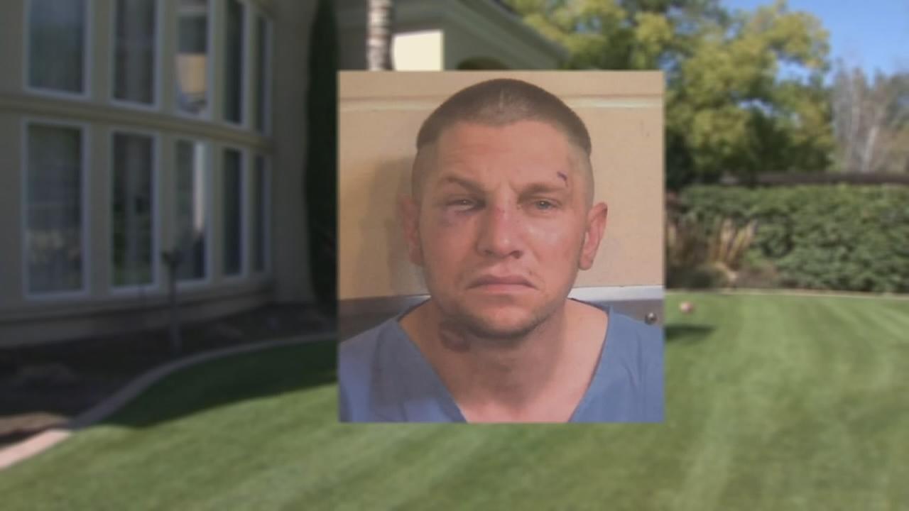 Terance Frazier punches burglar in bedroom