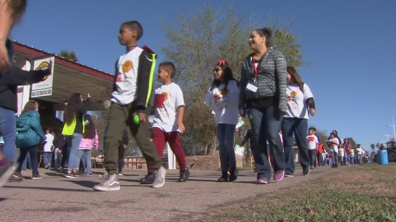 3rd graders filled Kings County Fairgrounds for Ag lesson