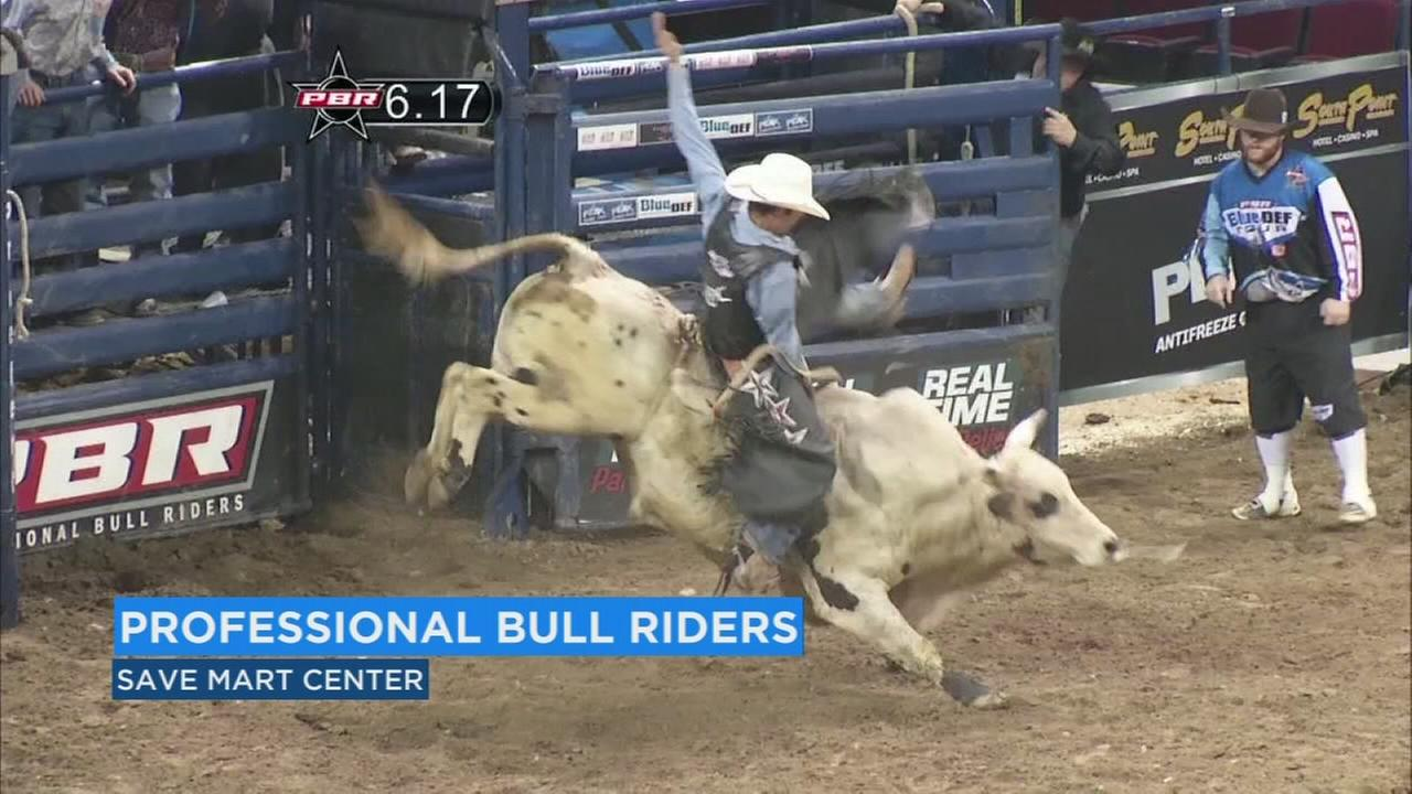 PBR is back and bringing some of the best bulls and bill riders to the Save Mart Center