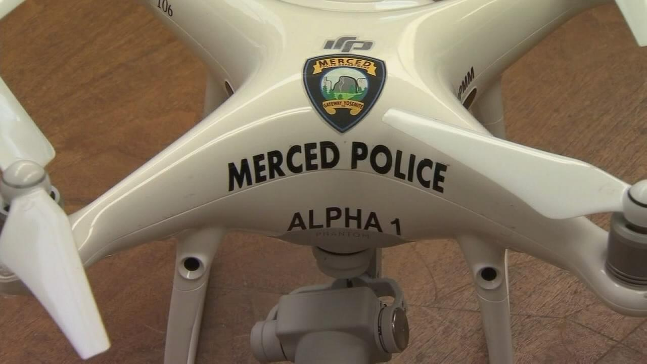 Small police departments using drones to tackle crime