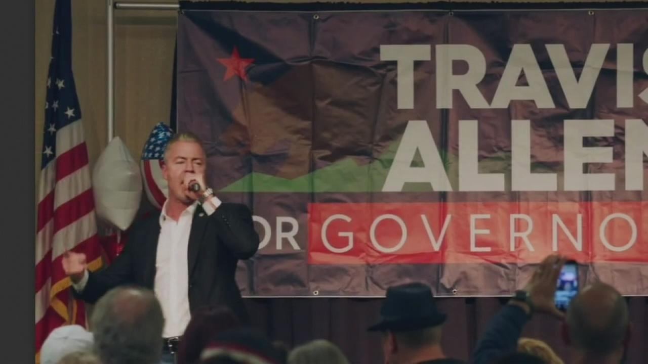 Travis Allen, republican candidate for CA governor, makes stop in Tulare County