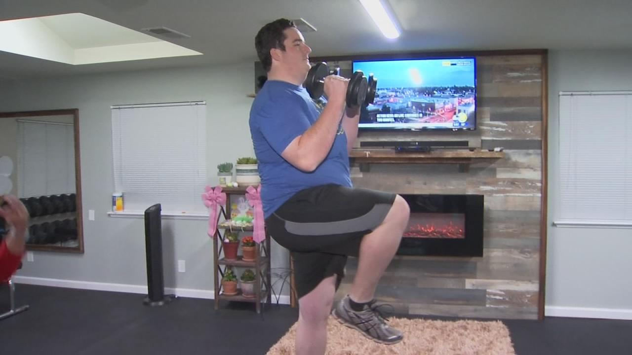 WORKOUT WEDNESDAY: Exercise to help you get back into working out