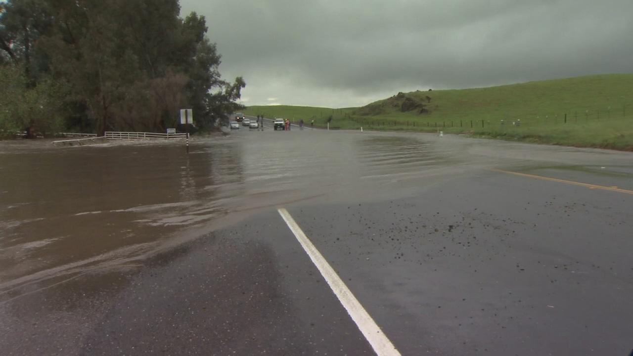 Highway 140 closed due to flooding