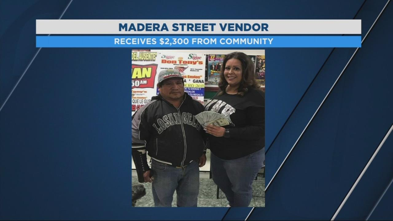 Madera community rallies donations for street vendor attacked on the job