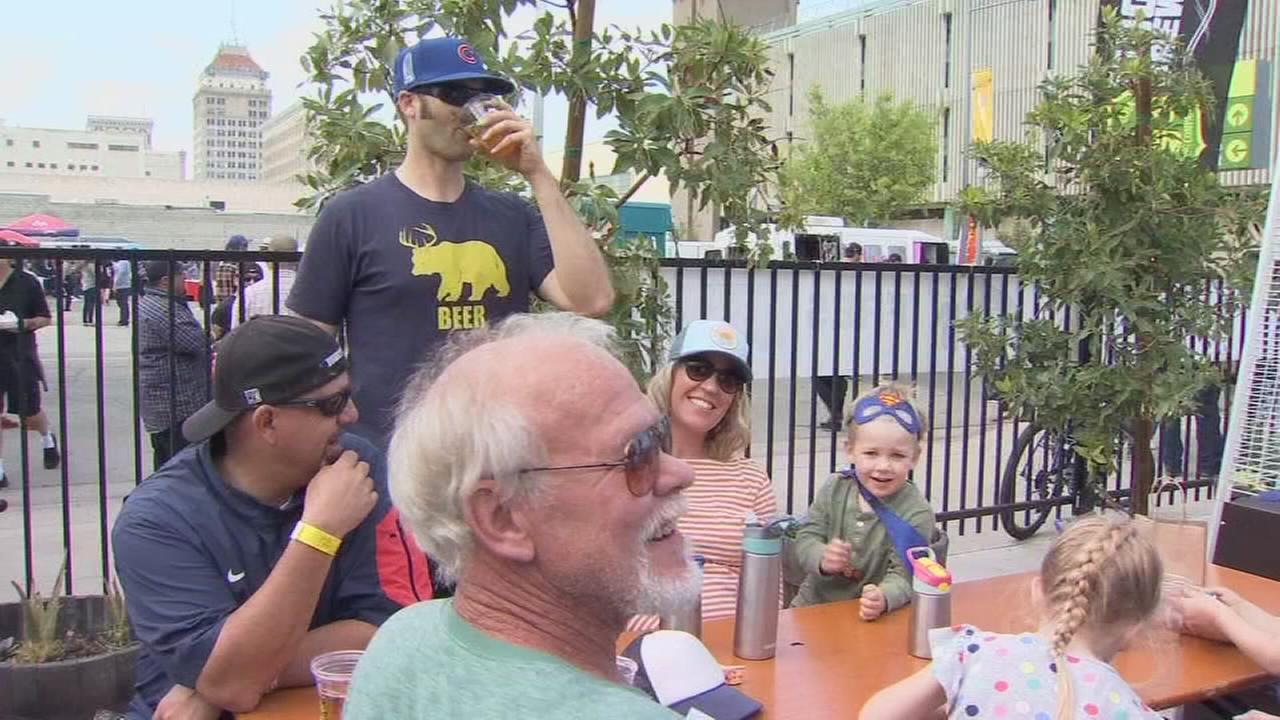 Local beer makers are bringing big crowds to Downtown Fresno