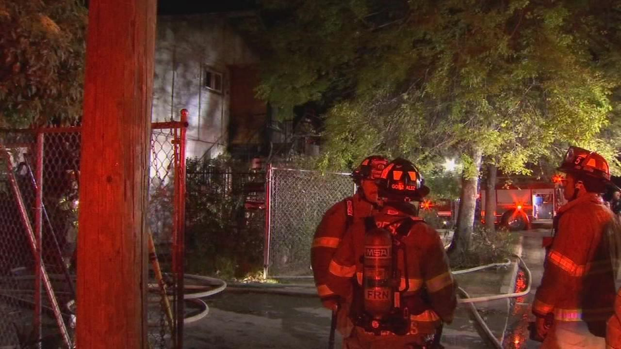 Family of 6 left without home after fire rips through Central Fresno apartment