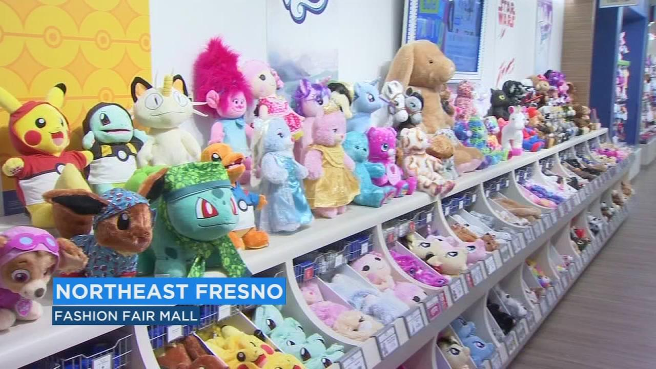 Bear-y cool give away at Build-A-Bear Workshop for its grand reopening at Fashion Fair Mall