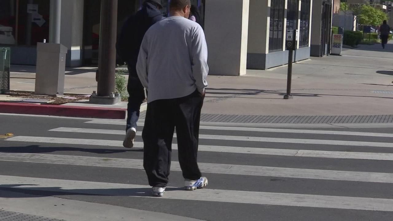Fresno Police continuing effort to keep pedestrians safe with extra officers patrolling streets