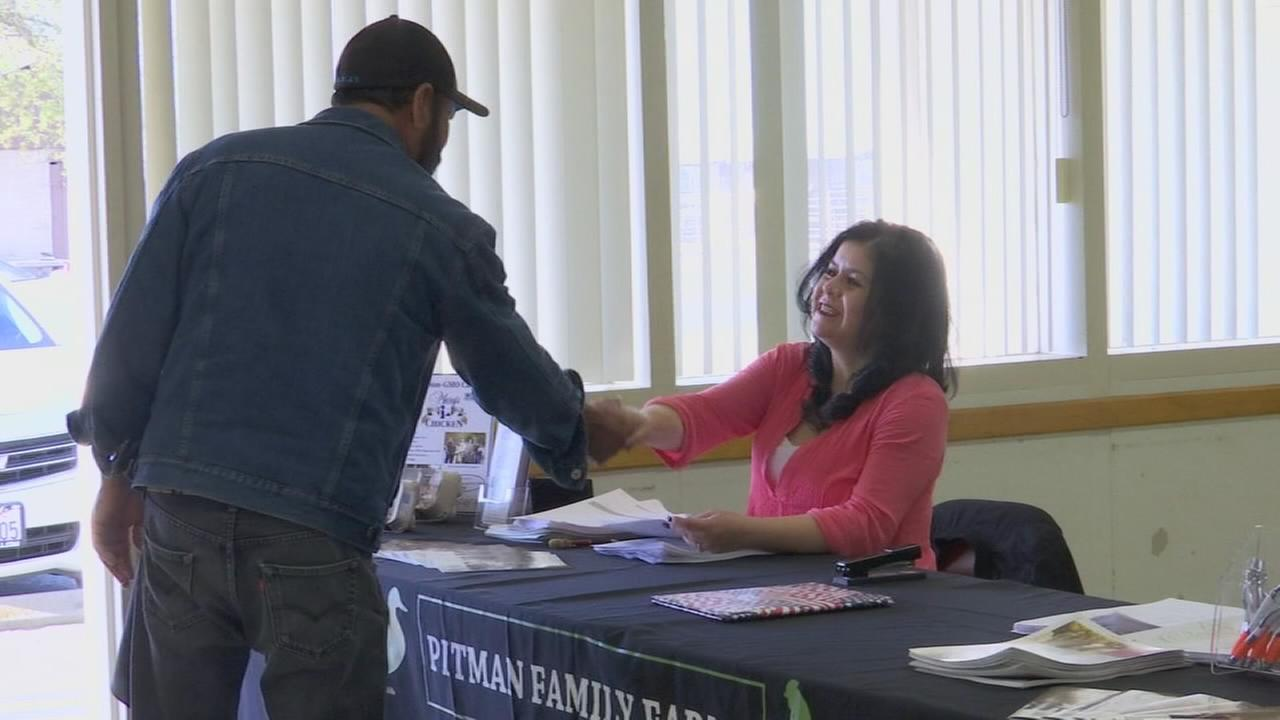 Pittman Farms holds job fair in Madera and Selma as ag industry struggles to find workers