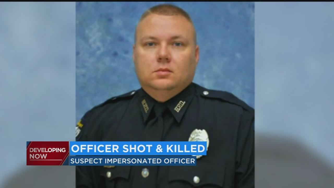 Off-duty Kentucky officer fatally shot, manhunt continues