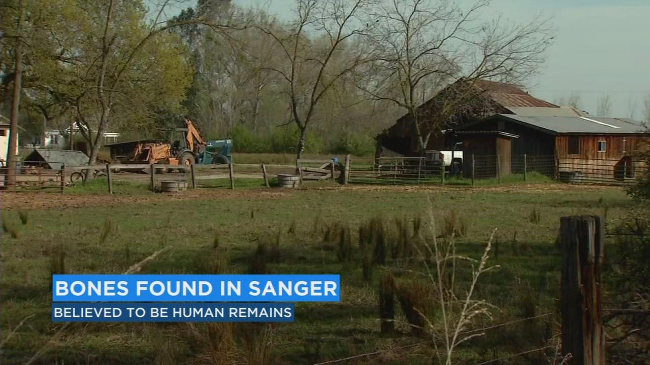 Disturbing discovery in rural area of north Sanger
