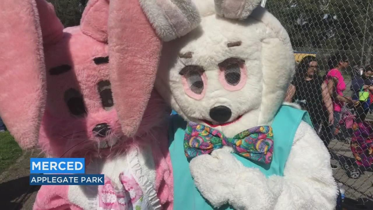 Traditional Easter egg hunt in Merced brings thousands of smiles