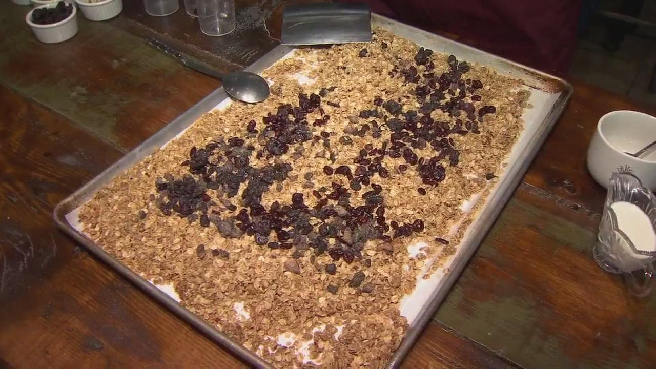 Local eatery raisin the bar for granola with a local sourced treat that want to teach you to make