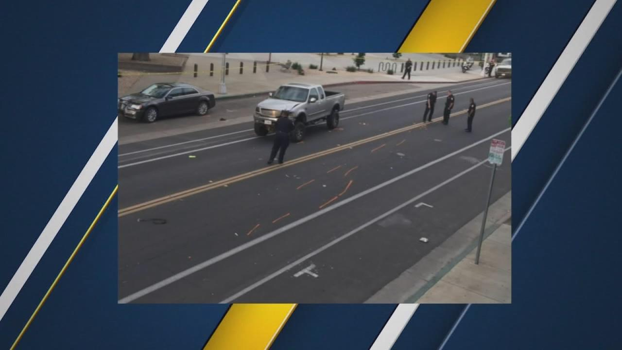 Colorado man hit and killed while crossing street in Downtown Visalia