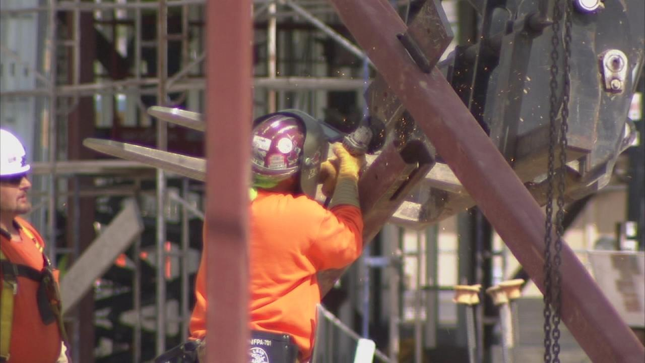 More construction around the Valley means more jobs