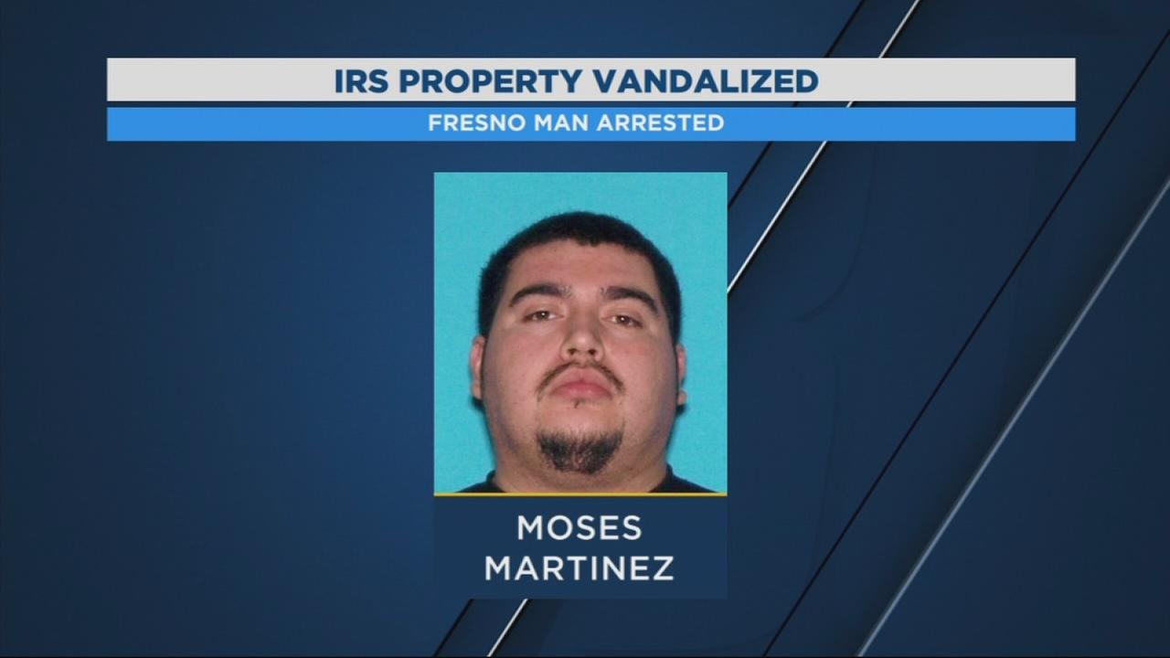 Police arrest man who smashed through gates at IRS building in SE Fresno