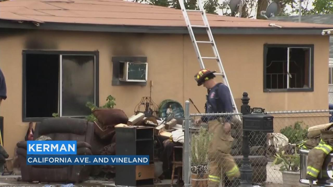 Firefighters investigating cause of fire that injured three people in Kerman