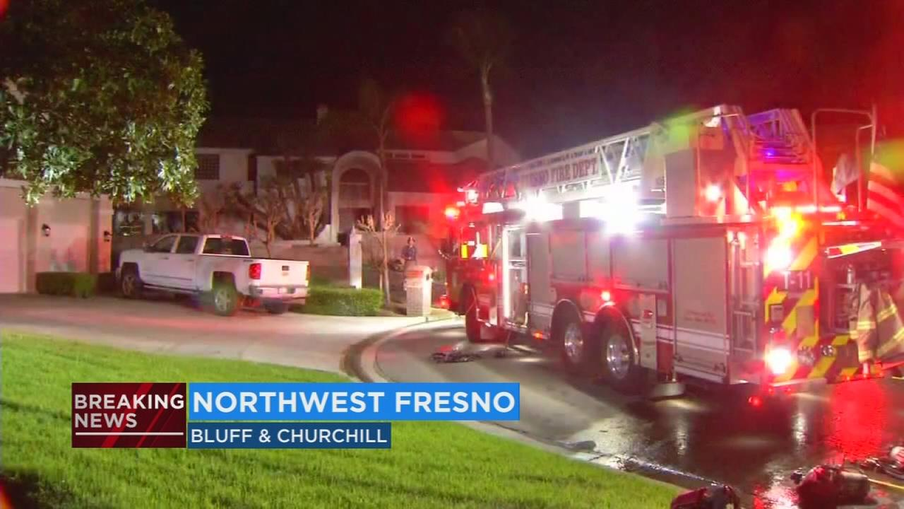 Fresno firefighters investigating cause of vacant home fire in northwest Fresno