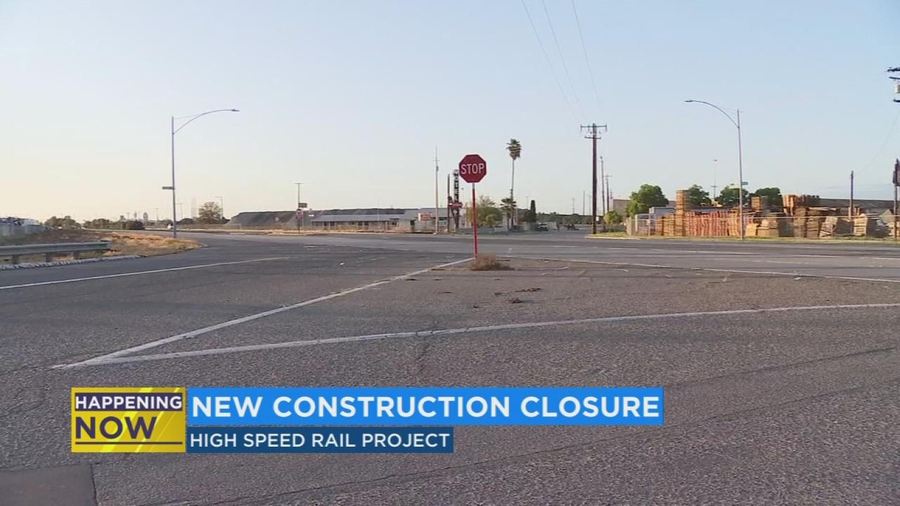 Crews start next phase of High Speed Rail project in Fresno