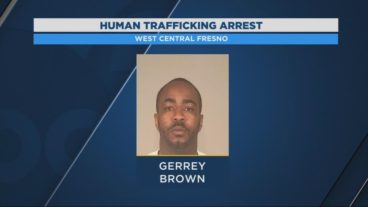 Man arrested in West Central Fresno for human trafficking