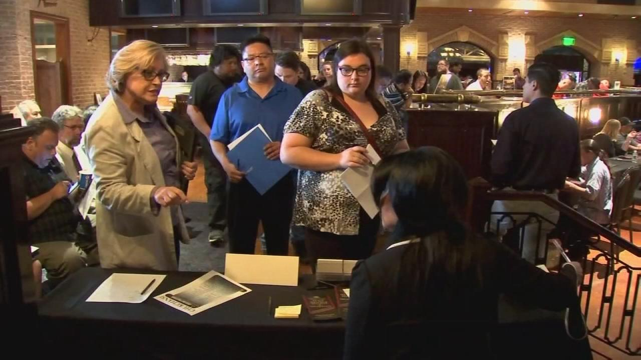 Dozens hired on the spot by Chukchansi Gold Resort and Casino