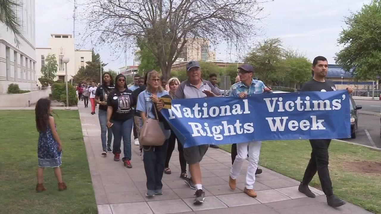 Victims of crime in Fresno County joined together