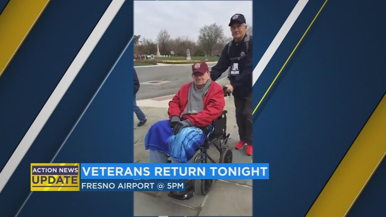 Valley vets returning home after tour of nation?s capital