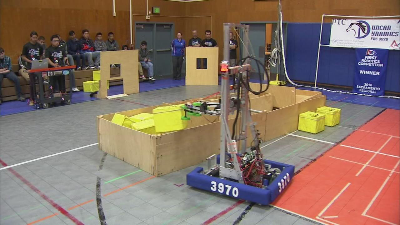 Central Valley students advance to world competition thanks to their robotic creation