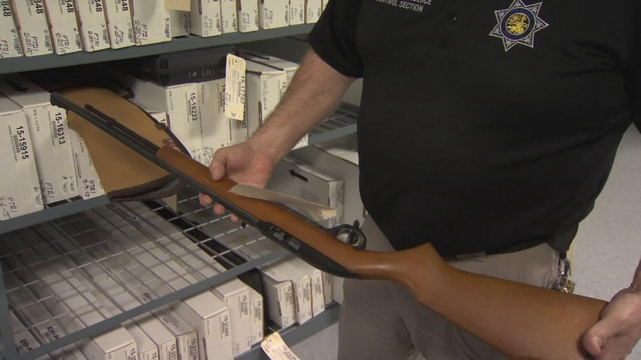 Fresno taking an average of 100 guns off the streets each month