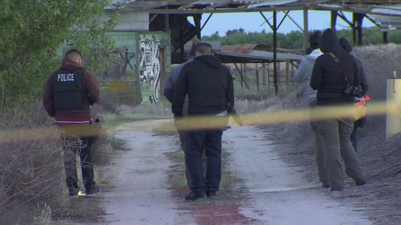 Dead body discovered inside a shed on a Fresno County property