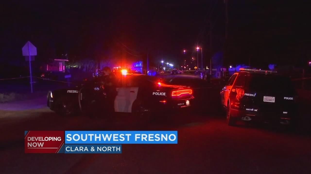Homicide investigation underway after shooting and SWAT action in Southwest Fresno