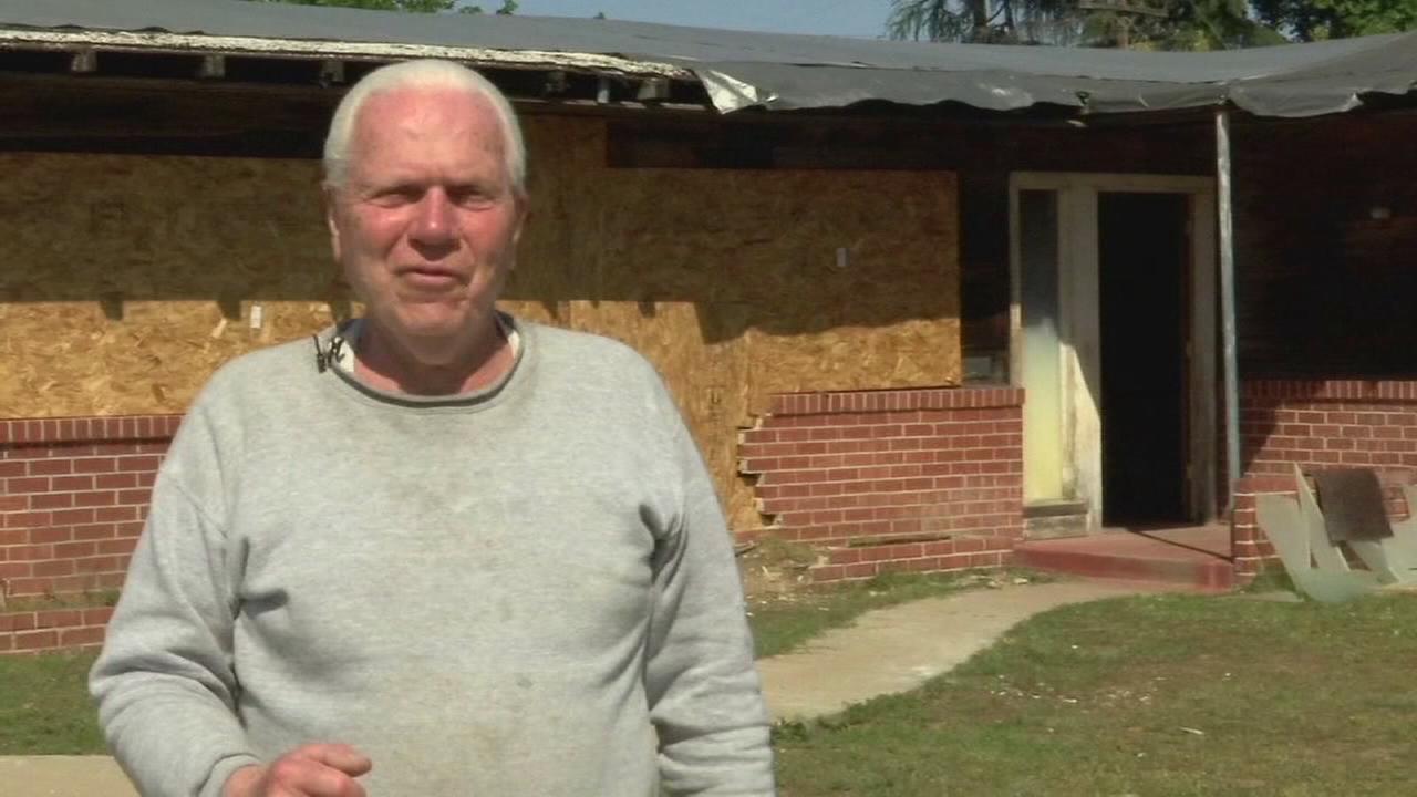 Sanger Police investigating a DUI crash that ended inside an elderly mans home